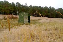 Green Box (claudipr0) Tags: lettland baltikum latvia strand ostsee sea beach balticsea umkleide saulkrasti