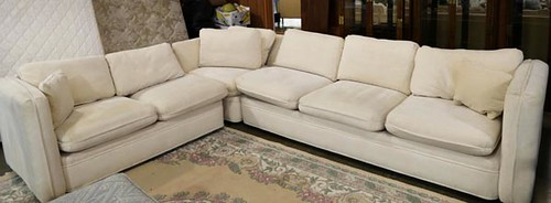 Ashley Monroe sectional sofa ($336)