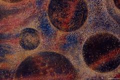 """Macro and microcosm"" work in progress (Martin Hewer) Tags: cosmology painting macro microcosm martin hewer painter oil gesso"