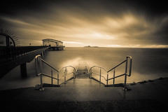 Peil Storm (jasonhudson2) Tags: castle seascape water longexposure piel roa island barrow cumbria sony