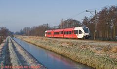 6356_Leerdam_141218 (florisdeleeuw) Tags: qbuzz merwedelingelijn gtw leerdam copier dordrecht geldermalsen 7231 treinstel