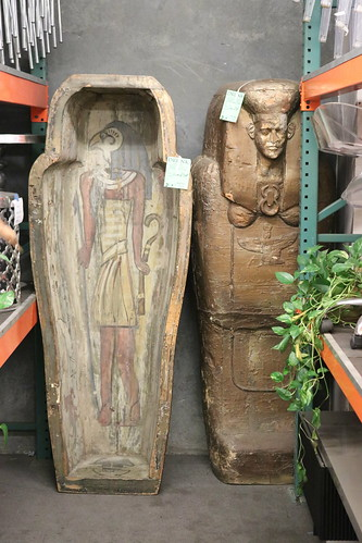 """Mummy Sarcophagus from The Mummy (1932) • <a style=""""font-size:0.8em;"""" href=""""http://www.flickr.com/photos/28558260@N04/45454873174/"""" target=""""_blank"""">View on Flickr</a>"""