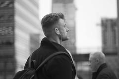 (Darryl Scot-Walker) Tags: londonstreetphotographers londonstreets londonstreetphotography streetphotography street urbanlife citylife city docklands man blackandwhite bw monochrome carlzeissjena zeiss sonnar streetportrait candid canondslr eos5dsr canon