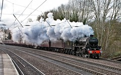 Black 5 No. 44871 (Silver Link) Tags: stanier black 5 44871 the cathedrals express sunday 9th december 2018
