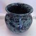 """Green Spotted Vase"" by CHRISTine, ceramic, $25.00"