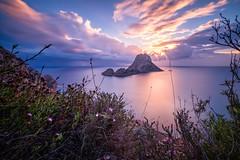 Autumn Dusk (Atlan130) Tags: nd3 baleareninsel europa europe goldenhour sundown lightroom luminar xt2 fuji longexposure langzeitbelichtung mittelmeer spanien spain seascape ibiza