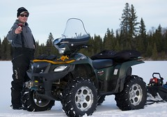 :D (Pwern2) Tags: winter canadian canada wilderness thebush friendlymanitoba friendly talking ruralmanitoba ruralbeauty conversations enjoyinglife friends friendship atvs atv nature pedruchnybay lakewinnipeg snow ice beer pointdubois beauty tradition
