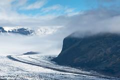 Receding Beauty (Dani℮l) Tags: iceland glacier landscape clouds ice danielbosma south moraine