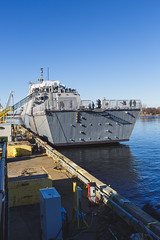 20181215_Y5A8668_m (LCS Team Freedom) Tags: 2018 christening lcs lcs19 launch littoralcombatship marinette shipyard stlouis usnavy usn wi wisconsin