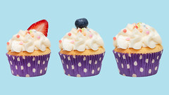 cupcake isolated on white background. clipping path (nu ruddean) Tags: sweet cake cupcake food dessert celebration party birthday background frosting sprinkles bakery cream delicious baked swirl sugar pastry snack white decoration decorated pink muffin colorful buttercream treat homemade fun cup eat frosted nobody vanilla design icing confectionery confection yummy holiday rainbow many multicolored isolated clipping path strawberry berry blueberry