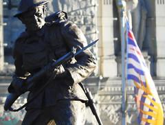 TO OUR GLORIOUS DEAD (die Augen) Tags: monument war coolpix b700 nikon soldier memorial victoria bc ww1 bronze terminator