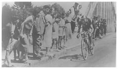Tour de France, 1938. (Paris-Roubaix) Tags: 1938 tour de france stage 15 vintage bicycle racing photographs time trial vervaske