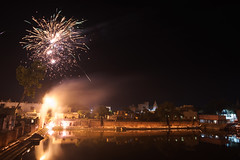 Fireworks (thomas.pirolt) Tags: india nikon24mm28ais shyamakund syamakund fireworks radhakund diwali dipawali 24mm28 nikon nikkor divali dipavali night art light lights candle fire beauty radha krishna krsna radharani braj vrindavan