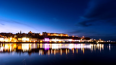 Whitby (Derwisz) Tags: riveresk cityscape dusk evening harbour lights river skyline wharf whitby northyorkshire unitedkingdom lowlight night reflections england englandseastcoast