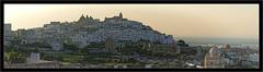 Sunset over Ostuni (Jean-Louis DUMAS) Tags: ville panorama panoramic panoramique pouilles italia italie village coucherdesoleil sunset crépuscule