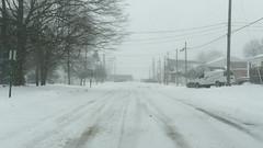 Main Street (joeldinda) Tags: mulliken village sky snow treefrog michigan cloud gray 4384 january greysky graysky grey 1v2 nikon1v2 nikon winter weather v2 2019
