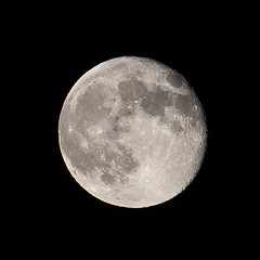 20140811_super_moon_001 (petamini_pix) Tags: moon supermoon lunar blackbackground fullmoon round circle texture minimalism