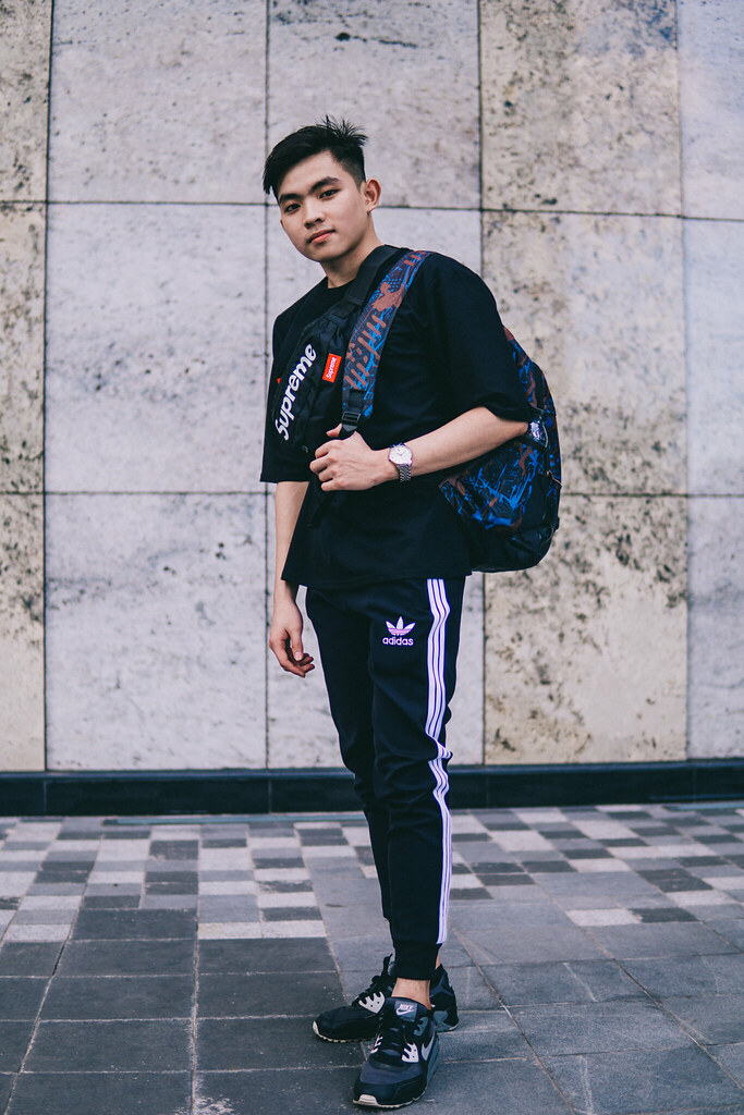 3fe2a9c8d20 Outfit (tienphat.le.1406) Tags: adidas nike outfit handsome black bag