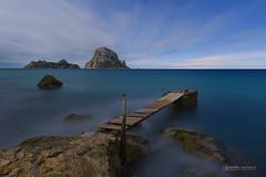 Es Vedra seascape with full moon light , Ibiza ... (Anton Calpagiu) Tags: nikonz7 tamron seascape nightscape fullmoon ibiza esvedra cala d hort island rocks longexposure