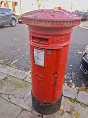Victorian Survivor (Deepgreen2009) Tags: box victorian vr clapham london suburb red old survivor postoffice