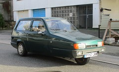 1997 Reliant Robin LX (occama) Tags: p757jhn 1997 reliant robin lx green british cornwall uk old car three wheeler wheel small