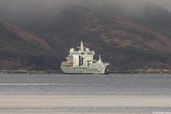 RFA Tidespring, A136, IMO 9655535; Loch Long, Firth of Clyde, Scotland (Michael Leek Photography) Tags: ship warship boat rfa rn firthofclyde lochlong coulport hmnbclyde hmnb hmsneptune royalfleetauxiliary cowal cowalpeninsula argyllandbute argyll auxiliary navalauxiliary nato natowarships navalvessel replenishmentship tanker cargoship royalnavy britainsarmedforces britainsnavy scotland scottishcoastline scottishlandscapes scotlandslandscapes scottishshipping scottishhighlands thisisscotland westcoastofscotland westernscotland michaelleek michaelleekphotography ardentinny