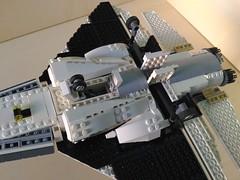 Lego Jet Fighter AFJ-S4 Arkangel (10) (Parm Brick) Tags: lego legojetfighter stealthjet military aviation militaryaviation moc mod afol legobrick vehicle minifigure pilot jet fighter stealth modern warfare battlefield air combat aircraft