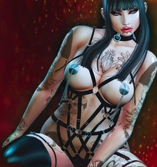 Persepolis (marduklust resident) Tags: sl avatar second life dae fangs marduklust queen inkù ricielli kinky monso
