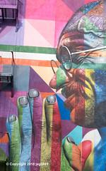 """Mahatma Gandhi"" Detail of ""Mother Teresa and Gandhi"" Mural (2018) by Eduardo Kobra, Chelsea, New York City (jag9889) Tags: 2018 20181203 activist architecture brazil building chelsea detail eduardokobra face gandhi graffiti house india kobra mahatmagandhi manhattan monumental mothertheresa mural muralist ny nyc newyork newyorkcity outdoor painting portrait sign streetart streetartist tagging text usa unitedstates unitedstatesofamerica wall window jag9889"