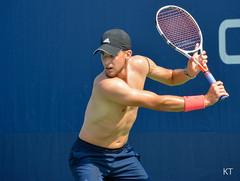 Dominic Thiem (Carine06) Tags: tennis usopen 2018 flushingmeadows corona newyork practice kt20180826336 dominicthiem
