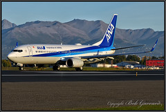 JA88AN  ANA  All Nippon Airways (Bob Garrard) Tags: jja88an ana all nippon airways boeing 737 anc panc