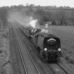 34067 'Tangmere' & 70013 'Oliver Cromwell' (Better Living Through Chemistry37 (Archive3)) Tags: royalduchy 34067 tangmere 70013 aller