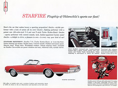 1965 Oldsmobile Starfire Convertible (coconv) Tags: car cars vintage auto automobile vehicles vehicle autos photo photos photograph photographs automobiles antique picture pictures image images collectible old collectors classic ads ad advertisement postcard post card postcards advertising cards magazine flyer prestige brochure dealer 1965 oldsmobile starfire convertible 65 olds
