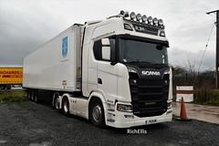 DSC_0015 (richellis1978) Tags: truck lorry haulage transport logistics cannock scania s rjm commercials s730 v8 y5rjm y5