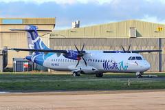 8Q-RAZ - 2018 build ATR 72-600, out of the paint shop & awaiting delivery (egcc) Tags: 72600 8qraz atr atr72 avionsdetransportregional castledonington egnx ema eastmidlands fwtda lightroom mav mantaair