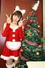 Peace On Earth, Goodwill To Bun (emotiroi auranaut) Tags: woman cat catwoman christmas xmas santaclaus bunny rabbit tree ornaments decorated lyrics