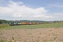 ELL/WLC 193 224 am 23.05.2018 mit einem Containerzug in Haunetal-Neukirchen (Eisenbahner101) Tags: