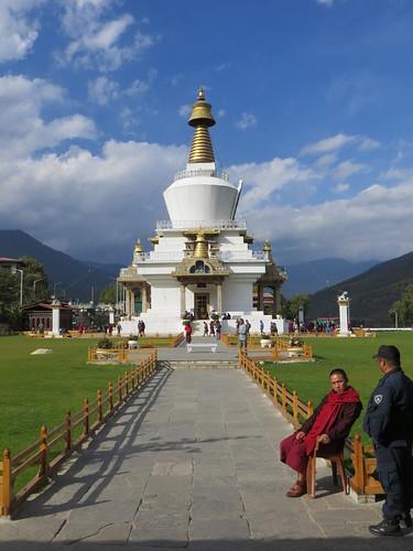 06 02 Bhutan - Thimpu - Memorial Chorten 001