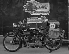 1916 Henderson (Tim @ Photovisions) Tags: xt2 motorcycle fuji bike cannonball fujifilm vintage antique henderson monochrome blackandwhite