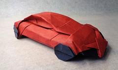 Lamborghini (mrmicawer) Tags: papiroflexia origami papel lamborghini coche automóvil vehículo car rueda deportivo