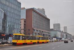1332+1331 - 15 - 21.12.2018 (VictorSZi) Tags: poland warsaw varsovia transport tram tramvai publictransport winter iarna december decembrie nikon nikond5300