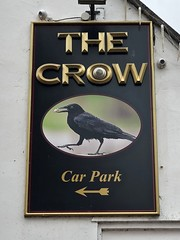 Tenbury Wells, Worcestershire (cherington) Tags: thecrow tenburywells worcestershire england unitedkingdom pictorialsigns pubsigns traditionalpubsigns englishpubsigns socialhistory innsigns