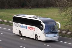 Edwards, Llantwit Fardre - FJ12 FXW (peco59) Tags: fj12fxw volvo b9r b9 caetano levante psv pcv edwardsllantwitfardre coach edwardscoaches nationalexpress