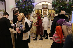 54. Рождественский молебен в Никольском 08.01.2019
