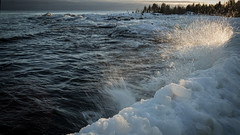 Iskanten (E.Rahm) Tags: is hav snow snö ice sea balticsea norrlandskusten winter vinter kvarken
