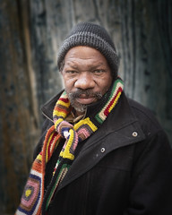 Vincent (mckenziemedia) Tags: man homeless homelessness scarf coat hat stockingcap streetphotography portrait portraiture humanity human street chicago urban city people