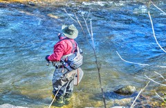 Trout Fishing, Mitchell River, North Carolina (Bass Player Keith Hall) Tags: mitchellriver yadkinriver surrycounty keithhallphotography elkinnc peedeeriver troutfishing northcarolina