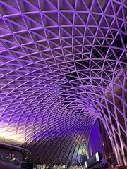 King's Cross station (Lawman2006) Tags: london station violet kingscross