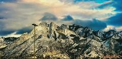 Murray. Utah (zairakhan) Tags: mountanside mountain clouds edited sky murrayutah lovefornature nature