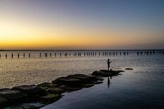 Clifton Springs Sunset-6 (Quick Shot Photos) Tags: bellarine canon cliftonsprings jetty oldpier sunset victoria australia au